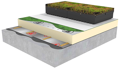 Firestone 3d Build Up Tpo Green Roof