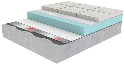 Firestone 3d Build Up Tpo Inverted System With Pavers