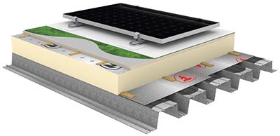 Firestone 3d Build Up Tpo Photovoltaic Panel